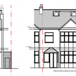 Barking Planning drawings front elevation