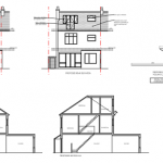 Barking Planning drawings rear elevation