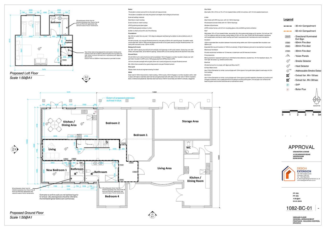 Bearwood Road - Floor plan-page-001