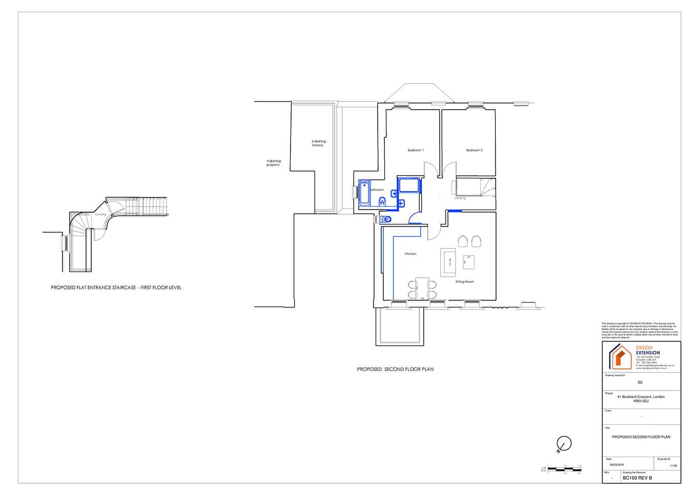 Buckland Crescent - Floor plan-page-001
