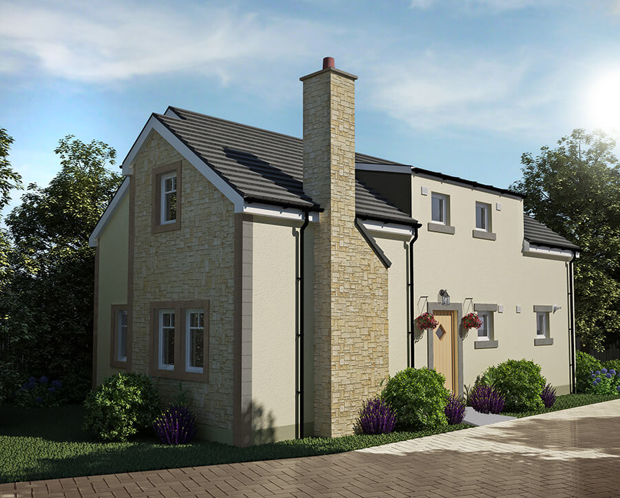 Exterior 3d CGI for planning