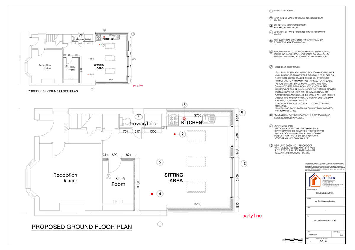 Southbourne Gardens - Floor plan-page-001